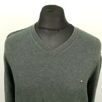 Tommy Hilfiger Mens  SLIM FIT Pullover XL  Cotton Sweater Jumper Knit