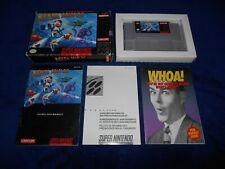 Mega Man X Super Nintendo SNES Game Complete MegaMan X CIB