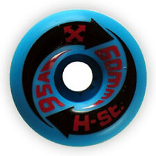 4 x H-STREET ARROW - SKATEBOARD WHEELS - NOS - BLUE/AZUL - 60MM 95A - ARROWS