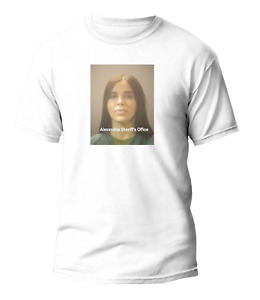 El Chapo Wife Emma Coronel Mugshot T Shirt - S M L XL