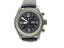 Oris Big Crown X1 Calculator Automatik Uhr 2013 Box Papiere