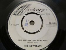 "THE NEWBEATS ""Run Baby Run (Back Into My Arms)"" Rare UK 7"" - Hickory 45-1332"