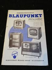 Original Service Manual Blaupunkt Fernseher jahrgang 1956/57