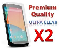 2x Premium Ultra Clear Screen Protector Film Cover Guard For LG Nexus5 Nexus 5