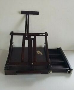 """Fold 16"""" Easel Sketch Wood Stand Art Supplies Drawing Board Table Painting"""