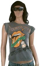 AMPLIFIED ROLLING STONES 1981 Candlestick Strass Star Vintage T-Shirt S 34/36