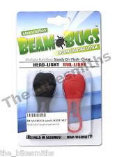 Beam Bugs LED Bike Headlight & Tail Light Frog Silicon Wraparound Front Rear Set