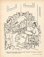 """Publicité Ancienne """" Humour - Joë Bridge 1956 """""""