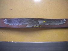 NOS Vintage Eagle Leather Works Leegin Belt Size 30 Genuine Leather
