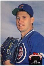 1992 Topps Stadium Club Baseball Trading Card - Les Lancaster Chicago Cubs (M)