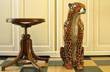 giaguaro in porcellana made in italy altezza cm.62 statua