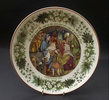 WOMAN'S WEEKLY CHRISTMAS 1984 COLLECTOR PLATE - THE NATIVITY
