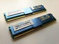 [C] HP MICRON 16GB KIT 2X 8GB 2RX4 PC2-5300F 667MHZ BUFFERED SERVER RAM