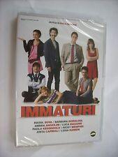 IMMATURI - DVD PAL SIGILLATO - LUCA & PAOLO - RAOUL BOVA - BARBORA BOBULOVA
