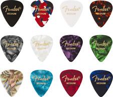 Fender 0980351805 351 Pearl White Picks Pkg 12 Med