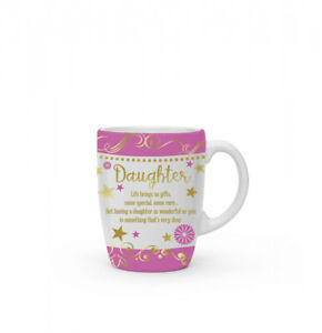 New boxed Daughter present gift fine china mug coffee cup Free P+P