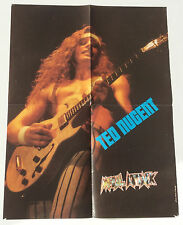 # POSTER METAL ATTACK 42 x 54cm # TED NUGENT # PHOTO HENRI CLAUSEL