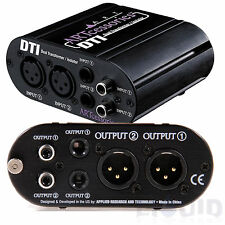 ART DTI Dual 2-Channel Ground-Loop Isolator Hum Noise Eliminator FREE 2DAY SHIP!