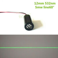 Class IIIA 532nm 5mw 60 Degree Line Laser Module 532nm Green Laser