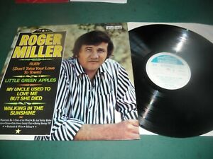 ROGER MILLER LP - RUBY (DON'T TAKE YOUR LOVE TO TOWN)