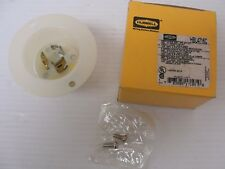 New Hubbell Receptacle, Panel Mount HBL4716C