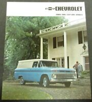1963 Chevrolet Truck Panel Step Van Corvair 95 Suburban Sales Brochure Original