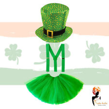 St. Patrick`s Day Event Fancy Dress Costume Party Irish Clover Girls Womans Tutu