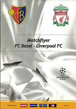 EC I CHAMPIONS LEAGUE 2002/03 FC Basel - FC Liverpool, 12.11.2002