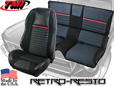 1969-70 Ford Mustang - Mach 1 - Sport R Seat Upholstery & Foam Kit
