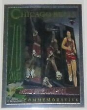 1996/97 Michael Jordan Bulls NBA Topps Chrome Record Breaker Insert Card #72 NM