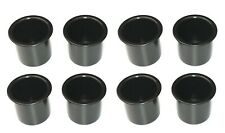 "8 Pack Black Plastic 2 7/8"" Boat Rv Car Truck suv Cup Holders Poker Table"