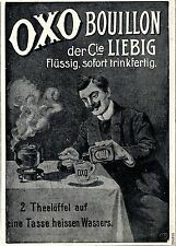 LIEBIG & Cie. OXO Bouillon historique la publicité de 1906
