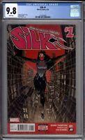 Silk 1 CGC Graded 9.8 NM/MINT Marvel Comics 2015