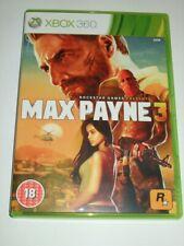 "Max Payne 3  Xbox 360   ""FREE UK  P&P"""