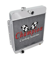 3 Row Reliable Champion Radiator for 1949 - 1956 Cadillac Series 60s, 61, 62, 75