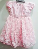 BNWTS Mothercare Pink Dress Christening Bridesmaid Party 12-18 Months £30