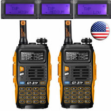 2x Baofeng GT-3TP Mark III V/UHF 1/4/8W FM Walkie Talkie Ham Two-way Radio > GT1