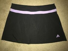 Adidas Golf Tennis Exercise Workout Athletic Skort Skirt Attached Shorts MEDIUM