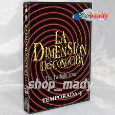 La Dimension Desconocida Temporada 4 En DVD Región 1 y 4 Español Latino