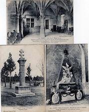 Lot Of 3 Antique Original Postcards - Nancy, France