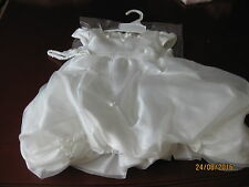 GIRLS FORMAL DRESS SIZE 2  - WHITE WITH PUFFED SKIRT AND WHITE HEADBAND