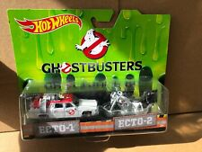 HOT WHEELS DIECAST - Ghostbusters - Ecto-1 & Ecto-2 - Combined Postage