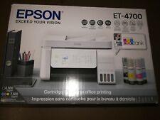 Brand New Epson EcoTank Et-4700 Wireless SuperTank Printer w/ Adf
