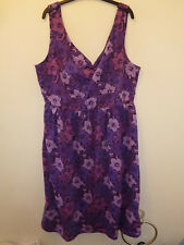 ANIMAL - Beautiful Ladies Samui Purple Summer Dress Outfit UK 16 - NEW WITH TAG