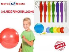 30 x CHILDRENS PUNCH BALLOONS LARGE PARTY BAG FILLERS GOODS LOOT BAGS TOYS UK 16