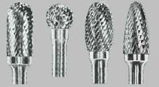 "Carbide Burr for IRON- 3/8 head x 6"" shank- You Choose Shape- Great Porting Tool"