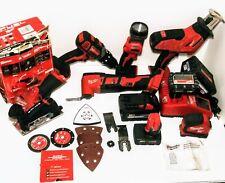 Milwaukee 2896-26 18v Impact Drill Cordless Brushless 5-Tool Combo Kit W/ Extras
