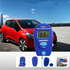 Car Portable Digital Gauge Crash Measuring Meter Paint Coating Thickness Tester