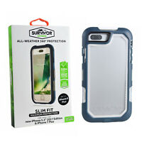 Genuine Griffin Survivor Extreme Rugged Full Case Cover For iPhone 8 Plus 7 Plus