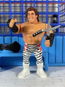 WWF Hasbro S3 Brutus Beefcake w/ BLACK Shears!! Action Works!! 🔥MINT🔥